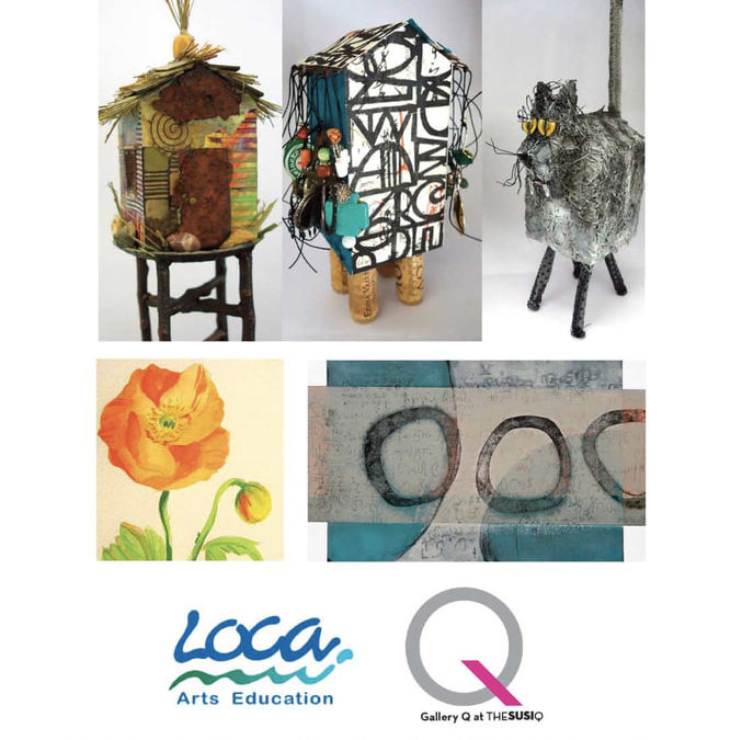 Community Creations Annual LOCA show at the Susi Q Gallery