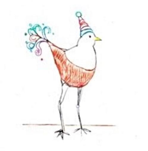 "Hedy Buzan Image of ""Dry Point Bird"""